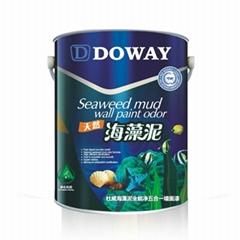 杜威海藻泥全能净五合一墙面漆