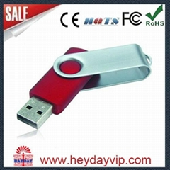 2014 popular plastic usb flash drive