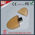 facotry wholesale wooden bammboo usb flash drive 2