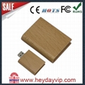 facotry wholesale wooden bammboo usb flash drive 3
