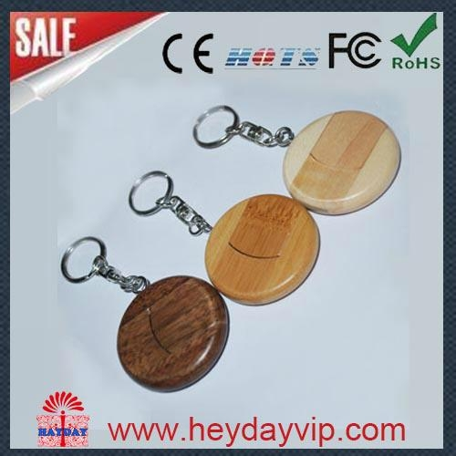 facotry wholesale wooden bammboo usb flash drive 4