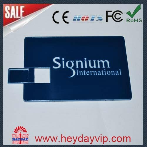 custom printing credit card usb flash drive 2
