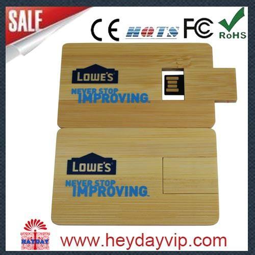 custom printing credit card usb flash drive 4