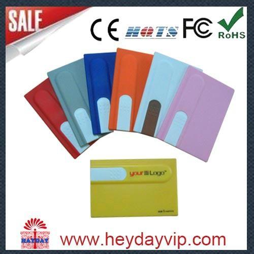 custom printing credit card usb flash drive 5