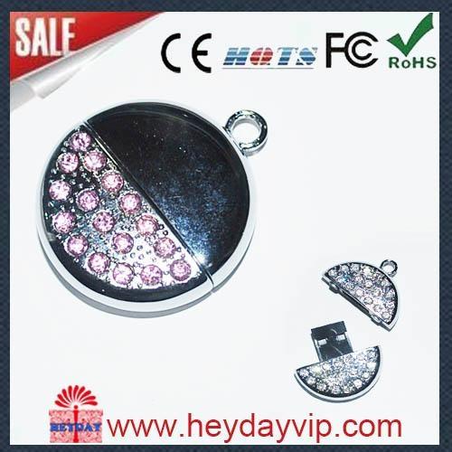 crystal diamond  usb flash drive 2