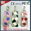 crystal diamond  usb flash drive 4