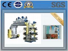Factory Supplier Non Woven Fabric 6 Colour Flexo Printing Machine