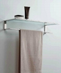 European modern style bathroom chrome towel racks