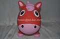 red horse inflatable toy 2