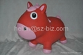 red horse inflatable toy 1