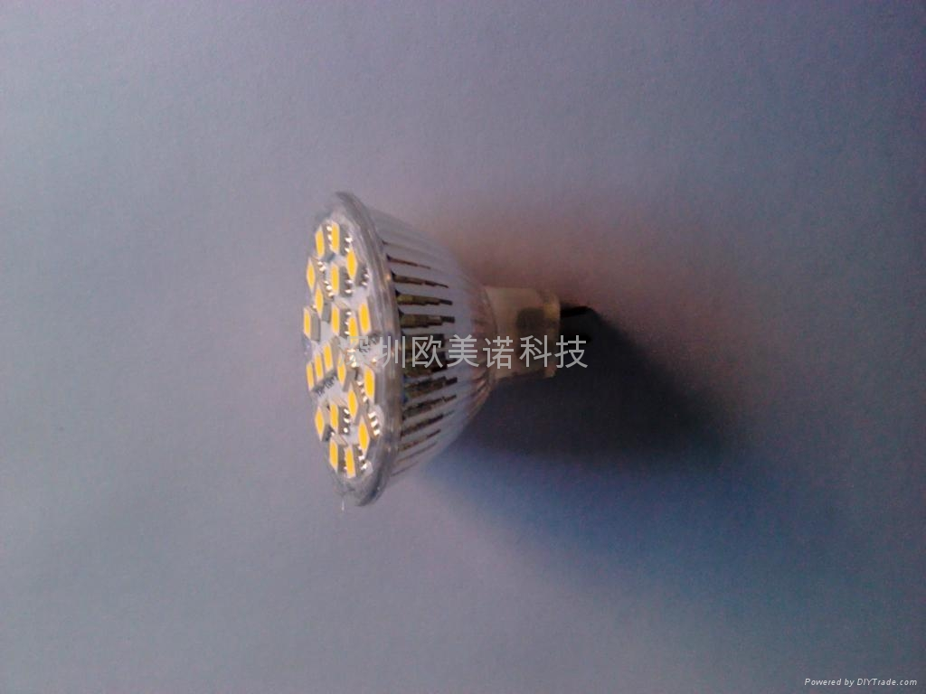 SMD玻璃射燈、LED射燈、LED燈杯、LED、貼片燈杯 2