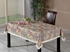 PVC法兰绒防刮花桌布