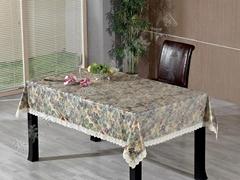 耐油易清洗高档桌布