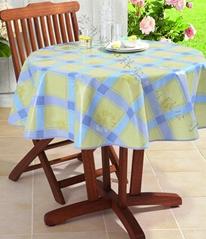 PVC透明圆桌桌布