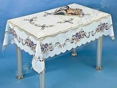 PVC透明易清洗桌布