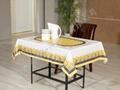PVC透明易清洗桌布 3