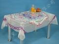 PVC透明易清洗桌布 4
