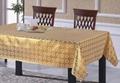 PVC土豪金家庭用桌布