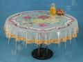 PVC水晶印花桌布厂家