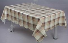 PVC无纺家用桌布批发