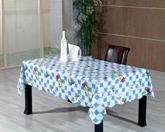 PVC餐桌防油渍桌布厂家