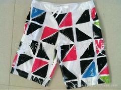 Men's fashion printing colorful sexy beach shorts