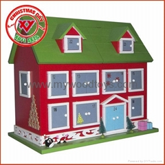 wooden house toy