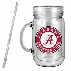 Plastic Mason Jar Mug Hot Sales