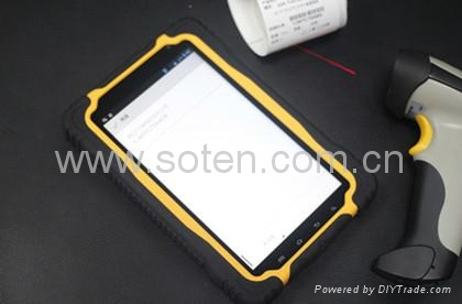 7inch R   ed Tablet PC for Business with 3G GPS RFID NFC Dual-core from SOTEN  2