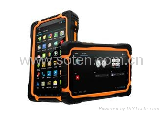 7inch R   ed Tablet PC for Business with 3G GPS RFID NFC Dual-core from SOTEN  1