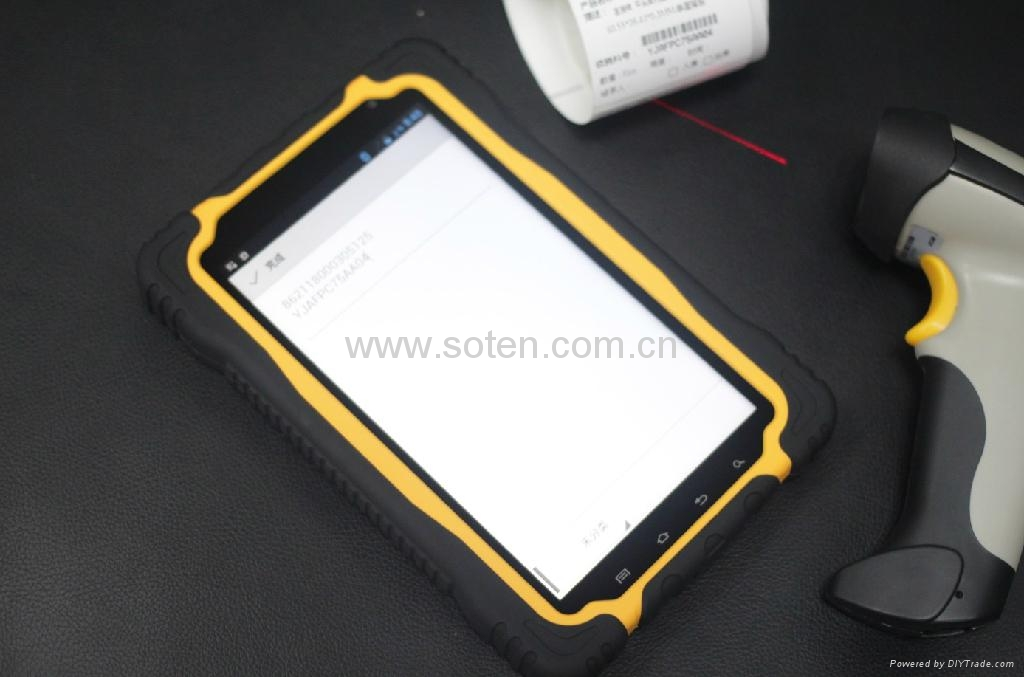 4 Core IP67 Outdoor 7inch Rugged Tablet GPS NFC RFID Beidou Navigation 2