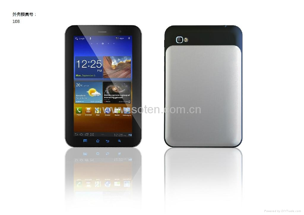 Tablet PC with 7 Inch High resolution Screen Quad Core 3G WiFi 1