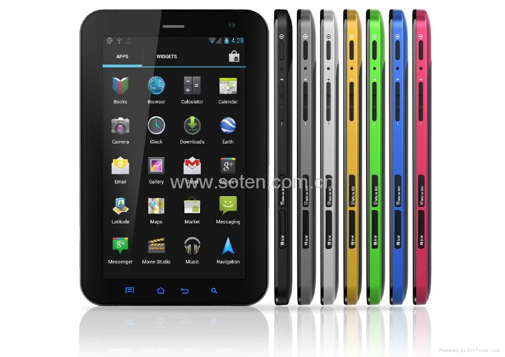 M3089 Tablet PC with 7 Inch 16G Quad Core 3G WiFi 1