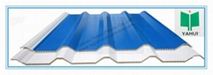 pvc hollow roof tile