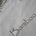 Sell bamboo knitted jacquard mattress fabric 1