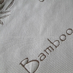 Sell bamboo knitted jacquard mattress fabric