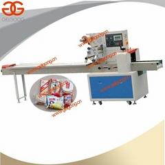 Pillow type Packing Machine Tongue depressor  packing machine