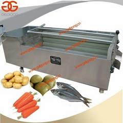 Potato Washing And Peeling Machine|Carrot Washing Machine|Kiwi Washing Machine