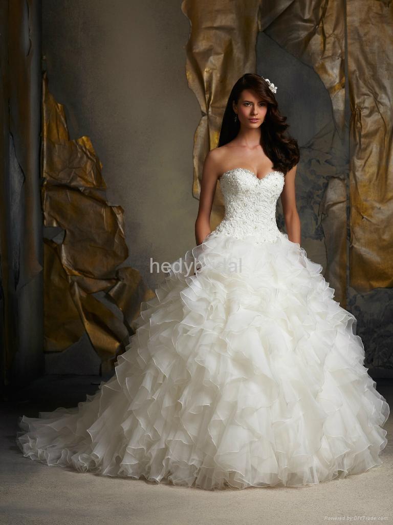 luxury imported wedding dress 2