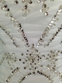 2014 new collections wedding dress ruffles exquisite crystal bead 4