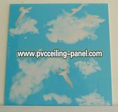 pvc roofing panels 595x595x7MM