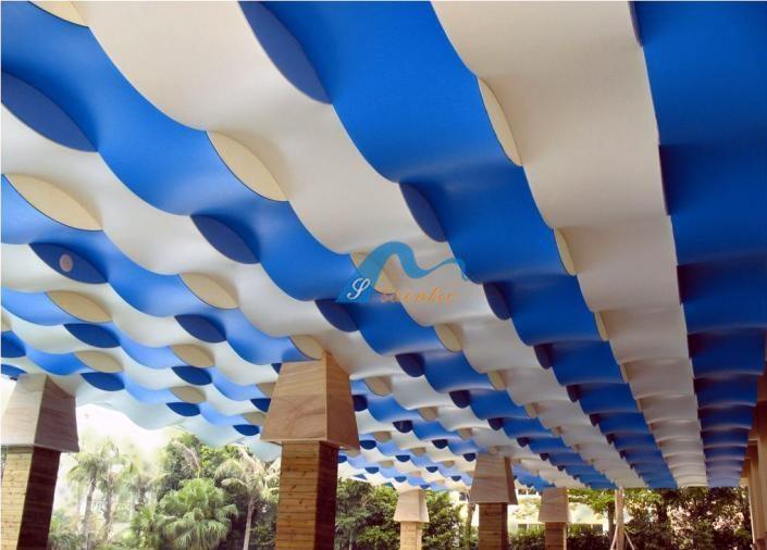 Beautiful Design Stretch Ceiling Fabric China
