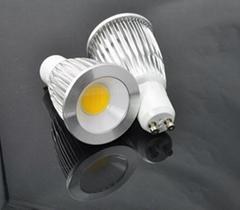 3w/5w/7w GU10 E27 COB LED Spot Light Spotlight Bulb Lamp High power AC85-265V