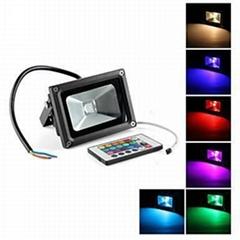 RGB led flood light 10W/20W/30W/50W/70w/100W outdoor lighting waterproof IP65