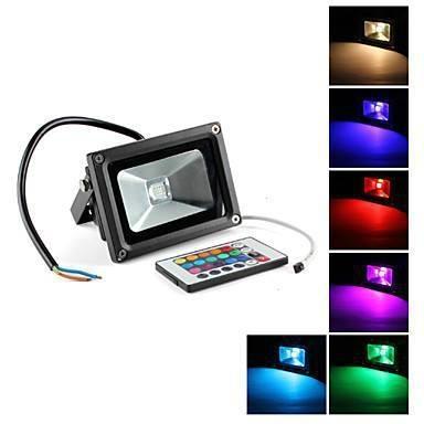 RGB led flood light 10W/20W/30W/50W/70w/100W outdoor lighting waterproof IP65 1
