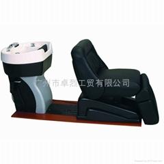 名匠卓烈09C02 豪華多功能電動洗頭床