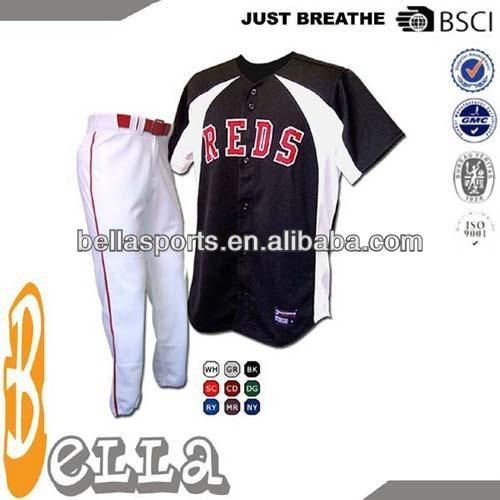 NEW Design Sublimation Custom Baseball Uniforms 1