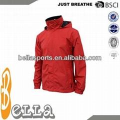 Men Polyester Jacket Leather Jacket sports jacket chinese clothing manufacturers