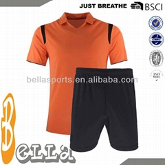 Wholesale Blank Soccer Uniforms for Kids with Polo Collar