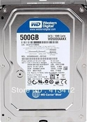 New Western Digital WD5000AAKX 500G SATA 6Gb/s 7200 rpm 16M 3 years warranty